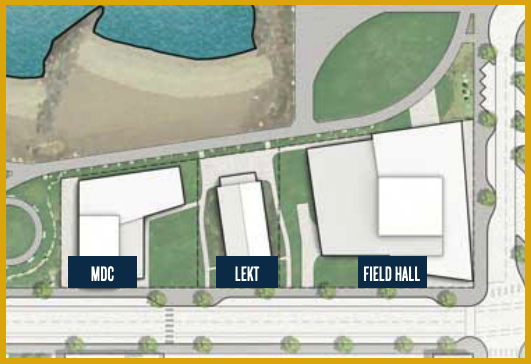 proposed layout of field hall