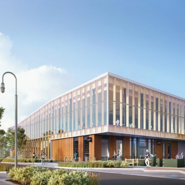 exterior render pa waterfront center